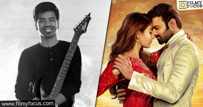 Acclaimed Music Composer, Justin Prabhakaran Roped In For Prabhas's Radhe Shyam