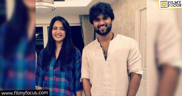 Anushka And Vijay Deverakonda To Team Up Soon