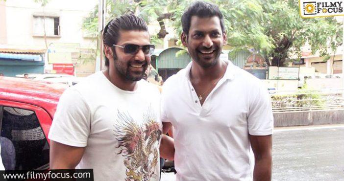 Arya And Vishal's Film Shoot Starts