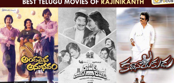 Best Telugu Movies Of Rajinikanth