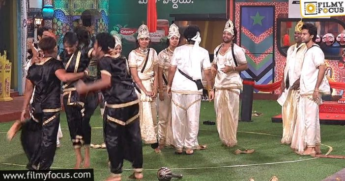 Bigg Boss 4 Humans Vs Monsters Task Turns Out Good