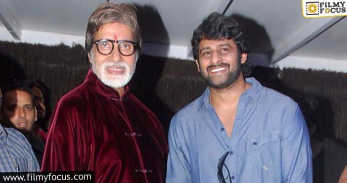 Living Legend Amitabh Bachchan Joins Prabhas And Deepika Padukone Film