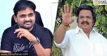 Maruthi Decides To Make Dasari Narayana Rao's Biopic