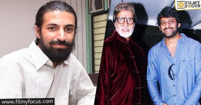 Nag Ashwin Gives Clarity On Big B's Role In Prabhas's Film
