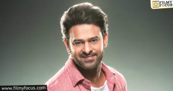 Prabhas Announces A Donation Of Rs 1.5 Crore To Help Telangana Flood Relief