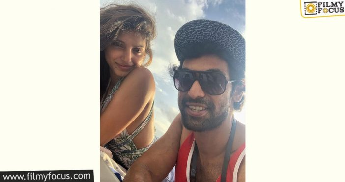 Rana Daggubati And His Wife Miheeka Off On Their Honeymoon Pic Goes Viral1