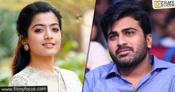 Rashmika Mandanna Signs Sharwanand's Next