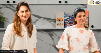 Samantha Cooks Healthier Version Of Idli With Upasana