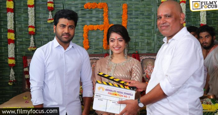 Sharwanand Is Excited! Here's His Lineup Of Films