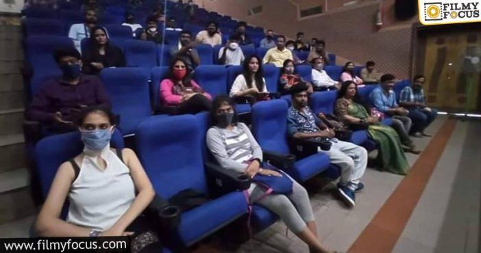 Theaters Across India Open With The Least Occupancy