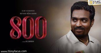 Vijay Sethupathi Walks Out Of 800
