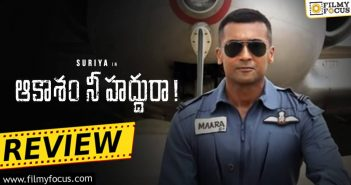 Aakaasam Nee Haddhu Ra Movie Review Eng