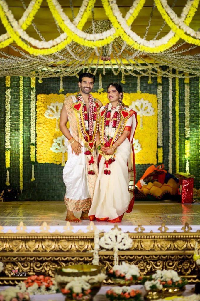 Actor Raja Chembolu Ties The Knot With Himabindu Lakshmi (2)