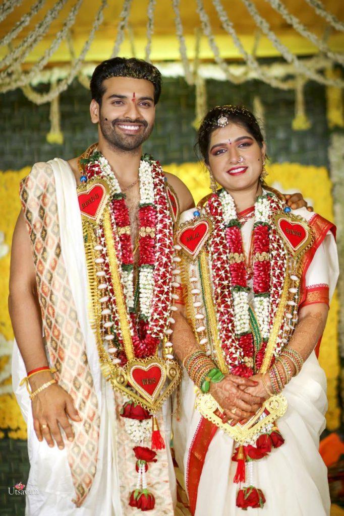 Actor Raja Chembolu Ties The Knot With Himabindu Lakshmi (3)