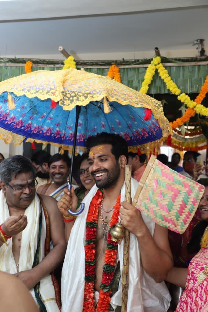 Actor Raja Chembolu Ties The Knot With Himabindu Lakshmi (5)