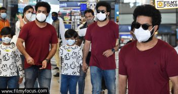 After A Holiday, Ntr Back In The City