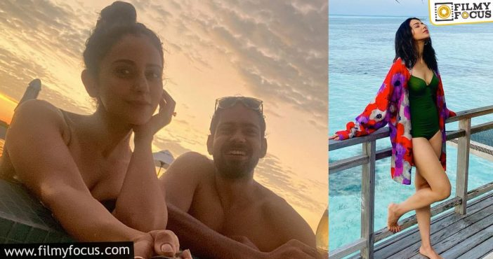 Now, Rakul Preet Singh Enjoys Herself In The Maldives
