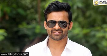 Sai Dharam Tej's Political Drama Progressing Well