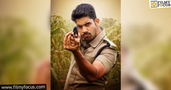 Sai Ronak's Look As Powerful Ips Officer From 'odela Railwaystation' Is Released