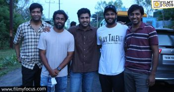 Sharwanand, Shree Karthick, Dream Warrior Pictures Film Shoot Wrapped Up