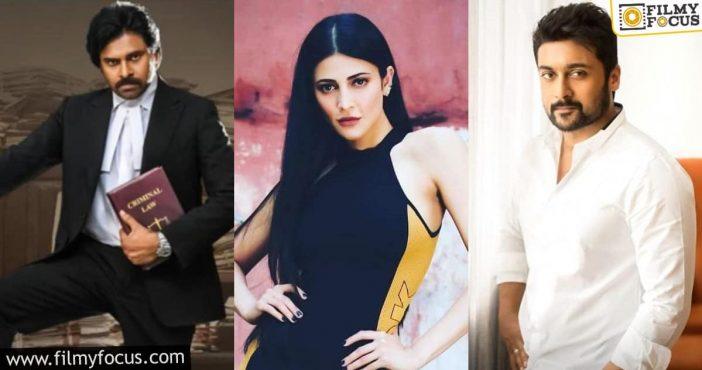 Shruti Haasan Talks About Pawan Kalyan And Suriya