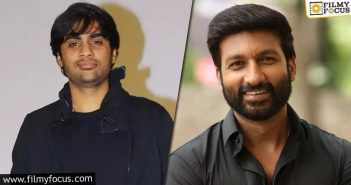 Sujeeth To Do A Project With Gopichand