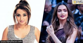 Trisha To Reprise Deepika Padukone In A Bollywood Remake