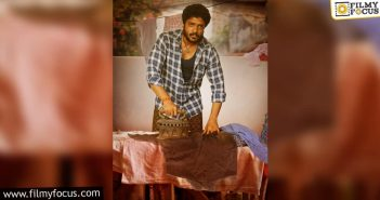 Vasishta Simha's Look As Tirupati From 'odela Railwaystation' Is Out