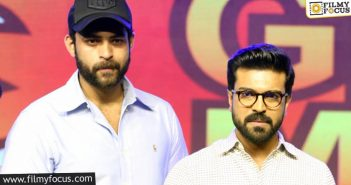 After Charan, Varun Gets Covid Positive