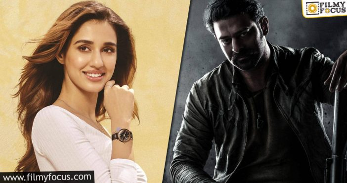 Disha Patani To Act In Prabhas's Movie