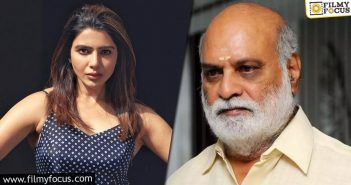 Has Samantha Denied Raghavendra Rao's Film