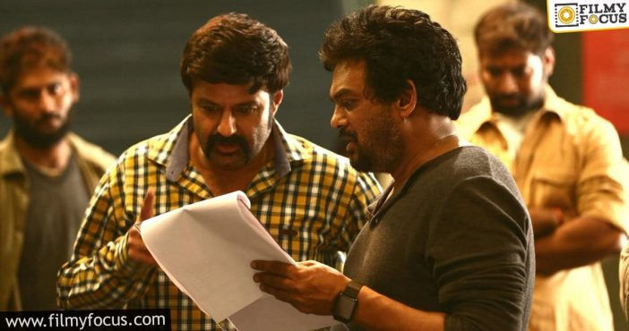 Puri's One Of The Scripts Is For Balayya