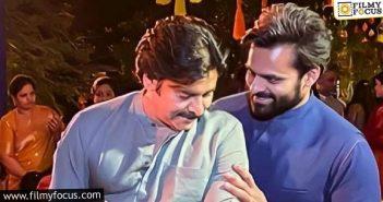 Sai Dharam Tej Talks About The Candid Pic With Pawan Kalyan
