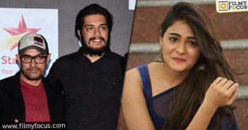 Shalini Pandey To Romance Aamir Khan's Son