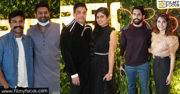 Top Tollywood Celebs Attend Dil Raju's Birthday Bash