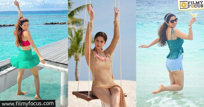 Vedhika Ends Her Maldives Trip