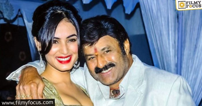 Was Sonal Chauhan The First Preferred Actress For Balayya