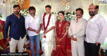 Actress Aanandhi gets married