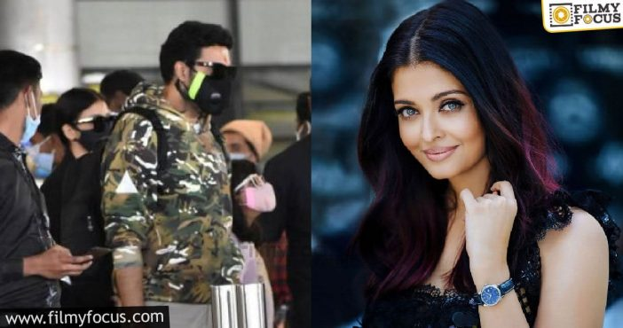 After 3 Years Aishwarya Rai Is Back To Hyderabad For A Shoot 2