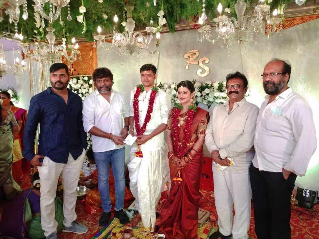 Actress Aanandhi gets married 1