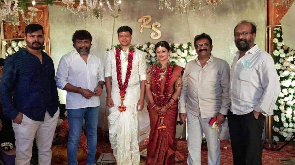 Actress Aanandhi gets married 2