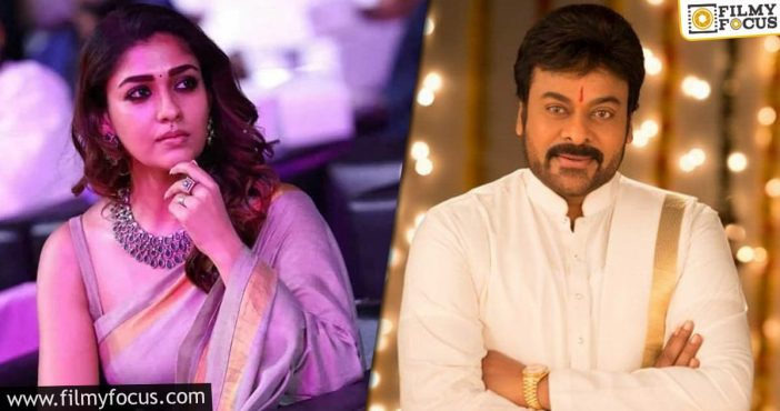 Is Nayanthara Going To Play Chiranjeevi's Sister