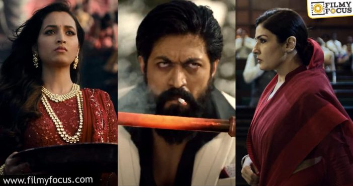 Kgf Chapter 2 Teaser Exceeds The Expectations