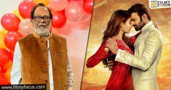 Krishnam Raju Confirms His Role In Radhe Shyam