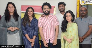 New Web Series Starring Nikhil Vijayendra, Niharika Launched By Rayudu Chitralu1