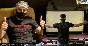 Nithiin Watches Krack At Amb Cinemas