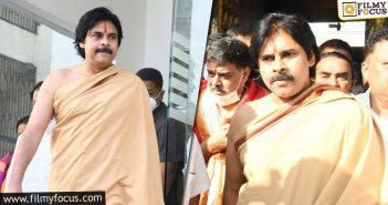 Pawan Kalyan In A Swamy Attire Surprises Everyone