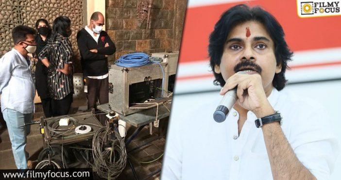 Pawan Kalyan Resumes The Shoot Of Krish's Movie