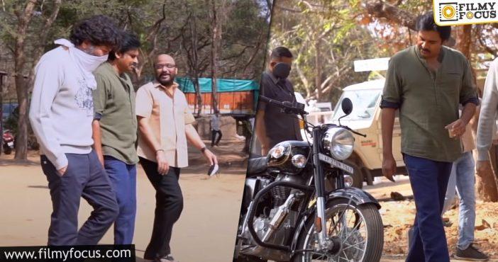 Pawan Kalyan's Simple Look For Ayyappanum Koshiyum Remake Is Out
