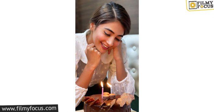 Pooja Hegde Celebrates Wrap Up Of Radhe Shyam With Cake